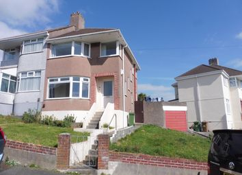 Thumbnail 3 bed property to rent in Churchway, Plymouth