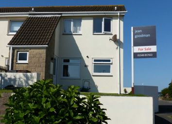 Thumbnail 3 bed end terrace house for sale in Kenwith Drive, Kingsbridge