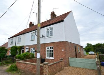 Thumbnail 4 bedroom end terrace house for sale in Woodend Road, Heacham, King's Lynn
