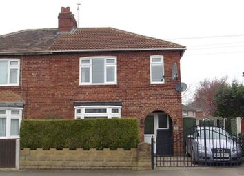 Thumbnail 3 bed semi-detached house for sale in Moss Croft Lane, Hatfield Woodhouse, Doncaster