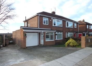 Thumbnail 3 bedroom semi-detached house for sale in Rothley Avenue, Newcastle Upon Tyne