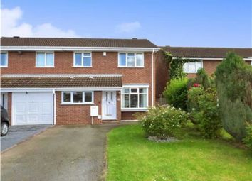 Thumbnail 3 bedroom semi-detached house for sale in Markham Croft, Wolverhampton