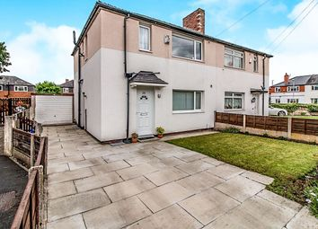 Thumbnail 3 bed semi-detached house for sale in Wrenbury Avenue, Withington, Manchester