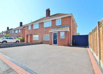 Thumbnail 3 bed semi-detached house for sale in Castle Lane West, Bournemouth