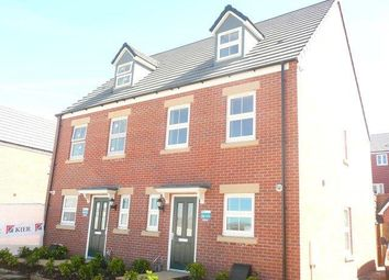 Thumbnail 3 bed town house to rent in Foster Way, Kettering