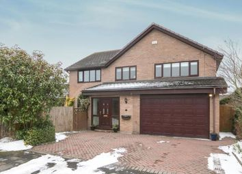 Thumbnail 5 bed detached house for sale in Willow Court, Bangor-On-Dee, Wrexham, Wrecsam