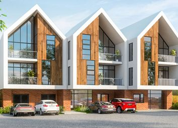 Thumbnail 1 bed flat for sale in Mollison Drive, Wallington