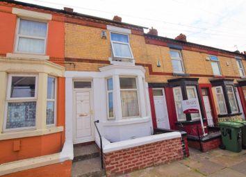 Thumbnail 2 bed terraced house for sale in Harrowby Road, Birkenhead