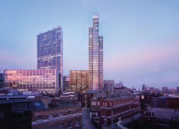 Thumbnail 3 bed flat for sale in Principal Tower, Shoreditch