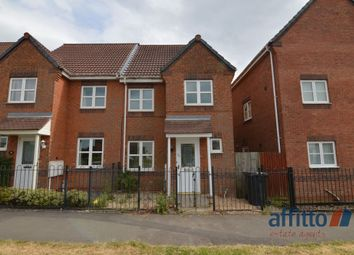 Thumbnail 3 bed semi-detached house to rent in Waterworks Road, Coalville
