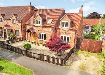 Thumbnail 3 bed detached house for sale in Harmston Park Avenue, Harmston, Lincoln