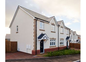 Thumbnail 3 bedroom semi-detached house for sale in Gwel Y Llan, Caernarfon