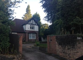 Thumbnail 7 bed detached house to rent in Derby Road, Nottingham