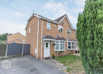 Thumbnail 3 bed semi-detached house for sale in Stavesacre, Leigh