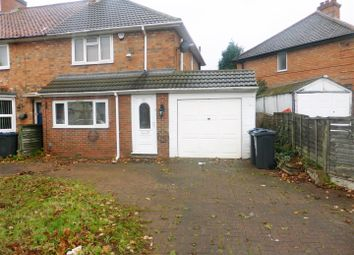 Thumbnail 3 bed semi-detached house to rent in Marlborough Grove, Yardley, Birmingham