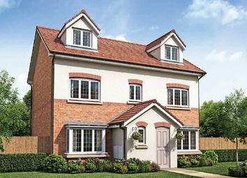 Thumbnail 5 bed detached house for sale in Roseacre Gardens, Rufford, Lancashire