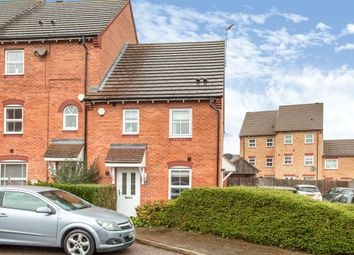 Thumbnail 3 bedroom end terrace house for sale in Johnson Avenue, Wellingborough