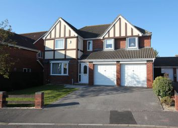 Thumbnail 5 bed detached house for sale in Heol Pearetree, Rhoose, Barry