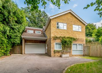 Thumbnail 5 bed detached house for sale in Cinder Path, Woking