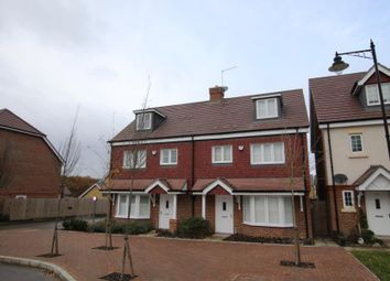 Thumbnail 4 bed semi-detached house to rent in Brookwood Farm Drive, Knaphill, Woking