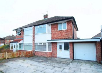 Thumbnail 3 bed semi-detached house for sale in Wrekin Close, Woolton, Liverpool