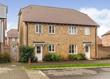 Thumbnail 2 bed semi-detached house for sale in Holly Blue Drive, Iwade, Sittingbourne