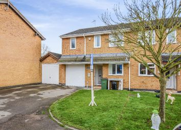 Thumbnail 3 bed semi-detached house to rent in Turville Close, Wigston, Leicester
