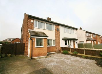 Thumbnail 3 bed semi-detached house for sale in Glendale Road, Worsley, Manchester