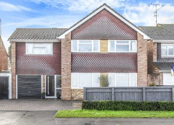 Thumbnail 5 bed detached house for sale in Kerrs Way, Wroughton, Swindon Wiltshire