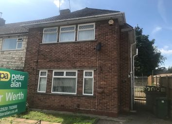 Thumbnail 3 bedroom end terrace house for sale in Laugharne Road, Rumney, Cardiff