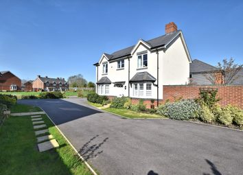 Thumbnail 4 bed detached house for sale in Elk Path, Basingstoke Road, Three Mile Cross, Reading