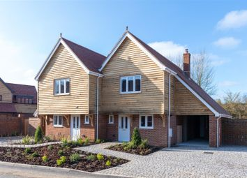 Thumbnail 3 bed semi-detached house for sale in Thorn Lane, Stone Street, Stelling Minnis, Canterbury