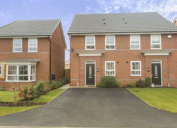 Thumbnail 3 bed semi-detached house for sale in Peter Fletcher Crescent, Elworth, Sandbach, Cheshire