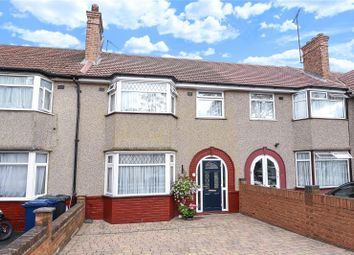 Thumbnail 3 bed terraced house for sale in Ennismore Avenue, Greenford, Middlesex