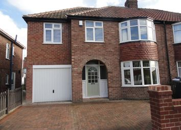 Thumbnail 4 bed semi-detached house to rent in Cranbrook Road, York