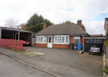 Thumbnail 3 bed detached bungalow for sale in Jiggins Lane, Birmingham