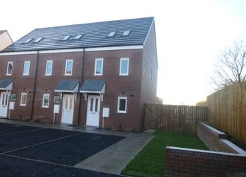 Thumbnail 3 bed terraced house to rent in Bamburgh Close, Amble, Morpeth