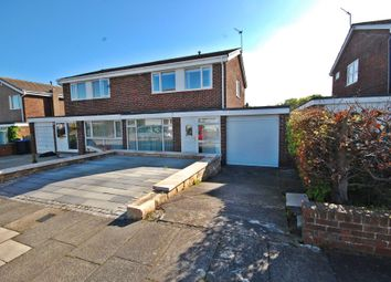 Thumbnail 3 bed semi-detached house for sale in Auckland Road, Newton Hall, Durham