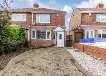Thumbnail 2 bed semi-detached house for sale in Lauderdale Avenue, Wallsend