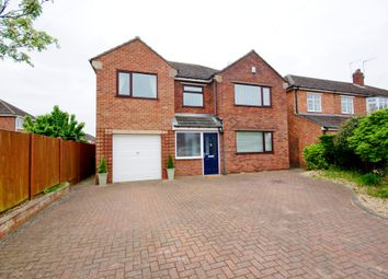 Thumbnail 4 bed detached house for sale in Selby Close, North Hykeham, Lincoln