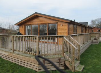 Thumbnail 3 bed mobile/park home for sale in Bulmer Farm Lodges, Riggs Road, Ryton, Malton, North Yorkshire