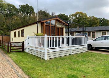 Thumbnail 2 bed mobile/park home for sale in Capel Gardens, Ruckinge, Ashford