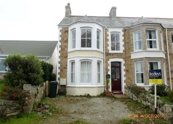 Thumbnail 4 bed end terrace house to rent in Porth Bean Road, Newquay, Cornwall