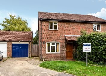 Thumbnail 3 bed semi-detached house to rent in The Rampart, Lower Buckland Road, Lymington