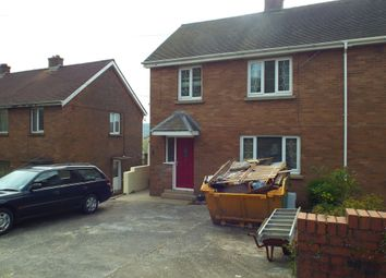 Thumbnail 3 bed semi-detached house for sale in Ffordd Aneurin, Pontyberem, Llanelli