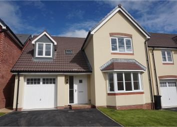 Thumbnail 4 bed detached house for sale in Cwrt Bevan, Merthyr Tydfil