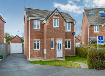 Thumbnail 3 bed detached house to rent in Hayfield Close, Normanton