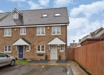 Thumbnail 4 bed semi-detached house for sale in Poole Close, Wainscott, Rochester