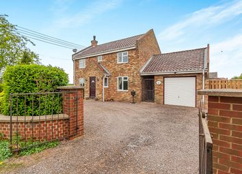 Thumbnail 3 bedroom detached house for sale in The Bank, Parson Drove, Wisbech
