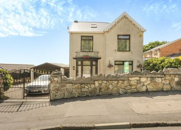 Thumbnail 4 bed detached house for sale in Old Road, Briton Ferry, Neath